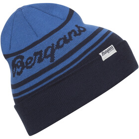 Bergans Find My Kids Beanie Kinder navy/strong blue